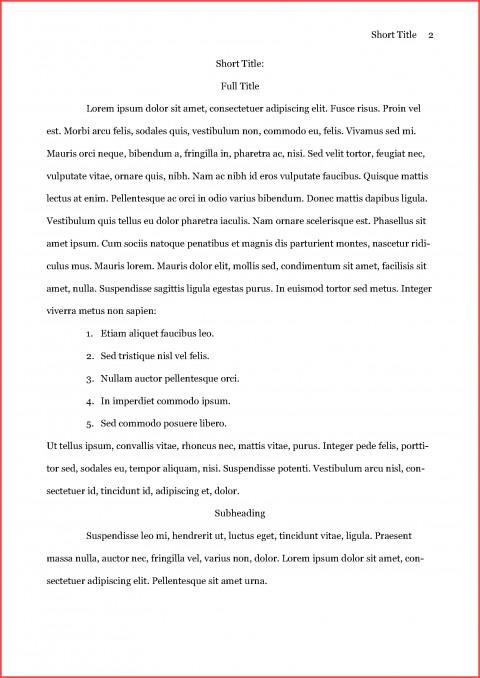 003 Asa Format Example Remarkable Essay Reference Generator Heading Citation 480