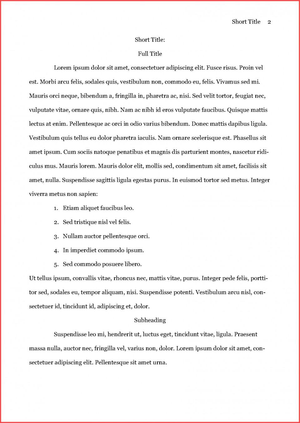 003 Asa Format Example Remarkable Essay Reference Generator Heading Citation 960
