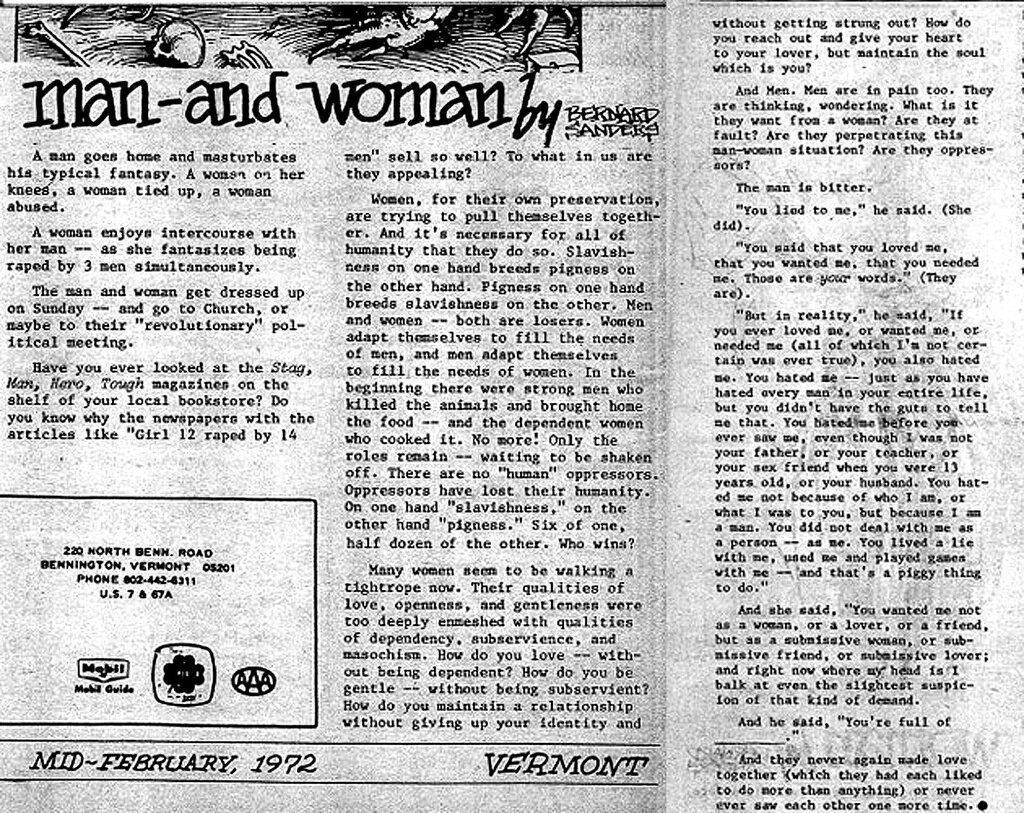 003 Bernie Sanders Rape Essay Dpm Wcduiaa4vmx Phenomenal Full