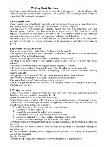 003 Book Essay Example How To Write Impressive Report Sample Examples Of Literary 360