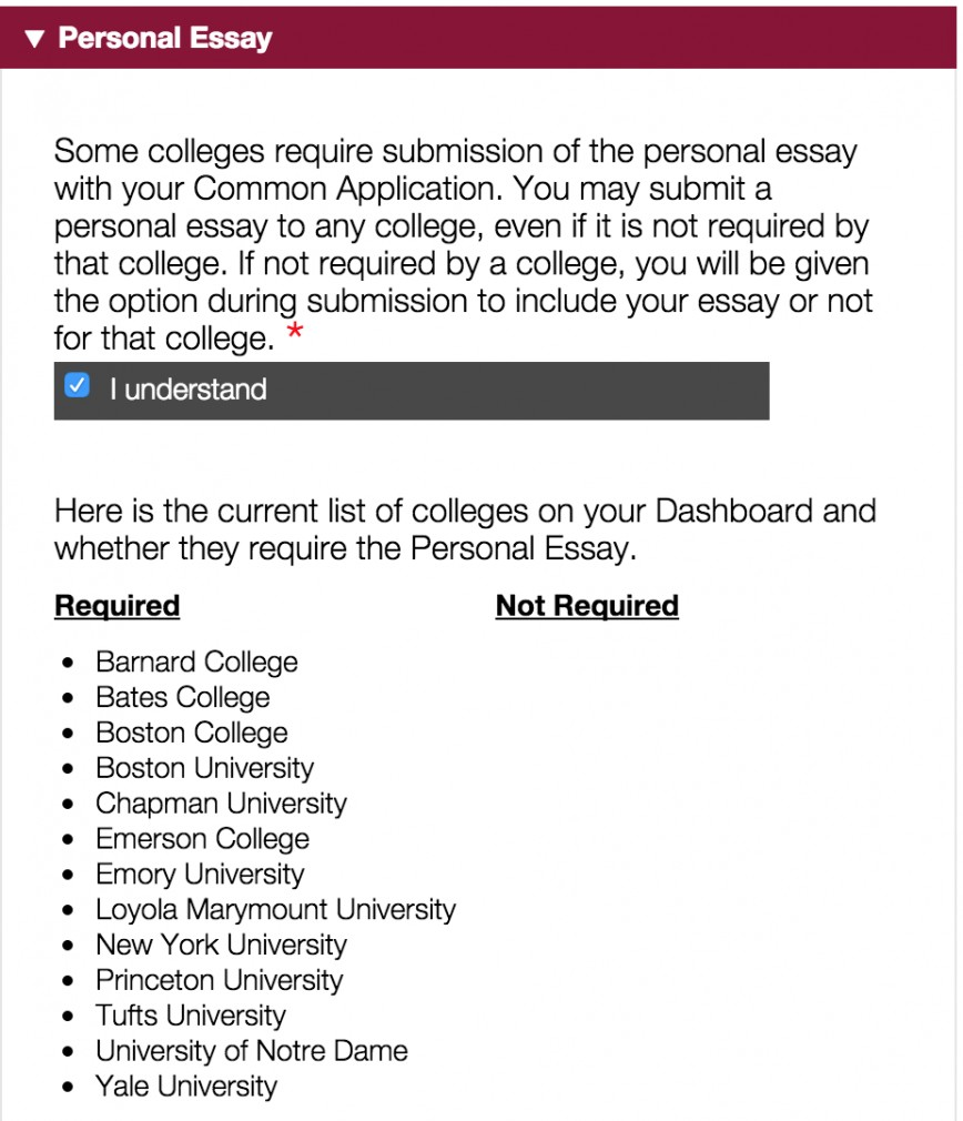 003 Boston University Supplement Essay Screen Shot At Am Sensational Example 2017 Common App