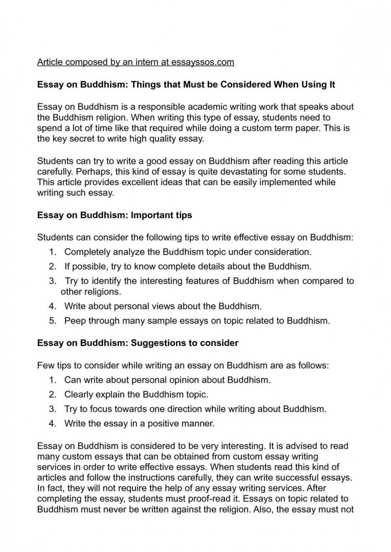 003 Buddhism Essay Example Beautiful In English Questions Buddha Purnima Hindi