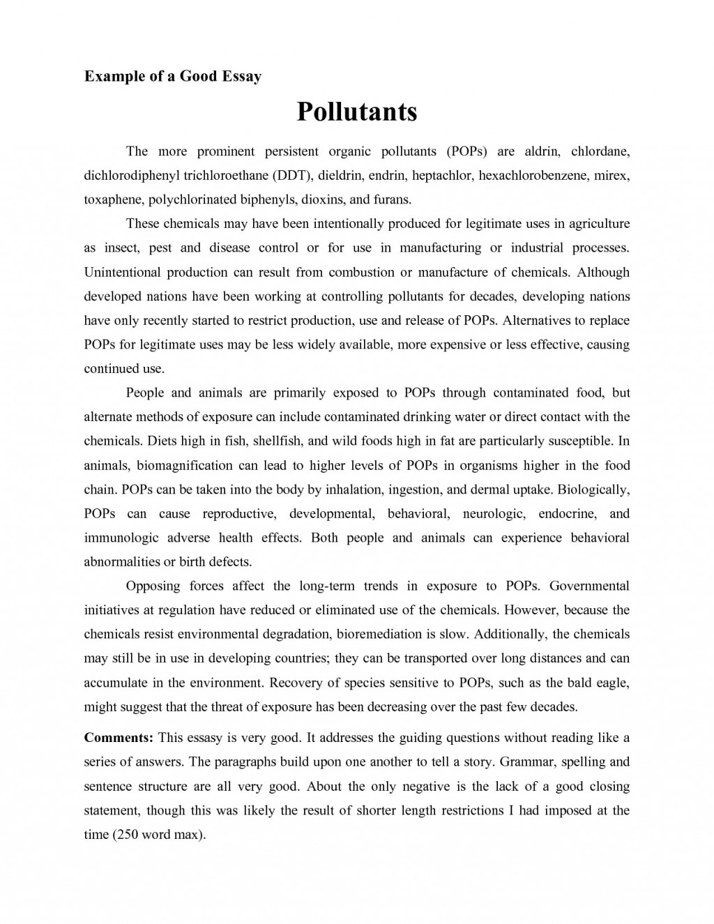 003 Causal Analysis Essay Examples New Template Example Selo L Striking Easy Topics Topic Ideas Large