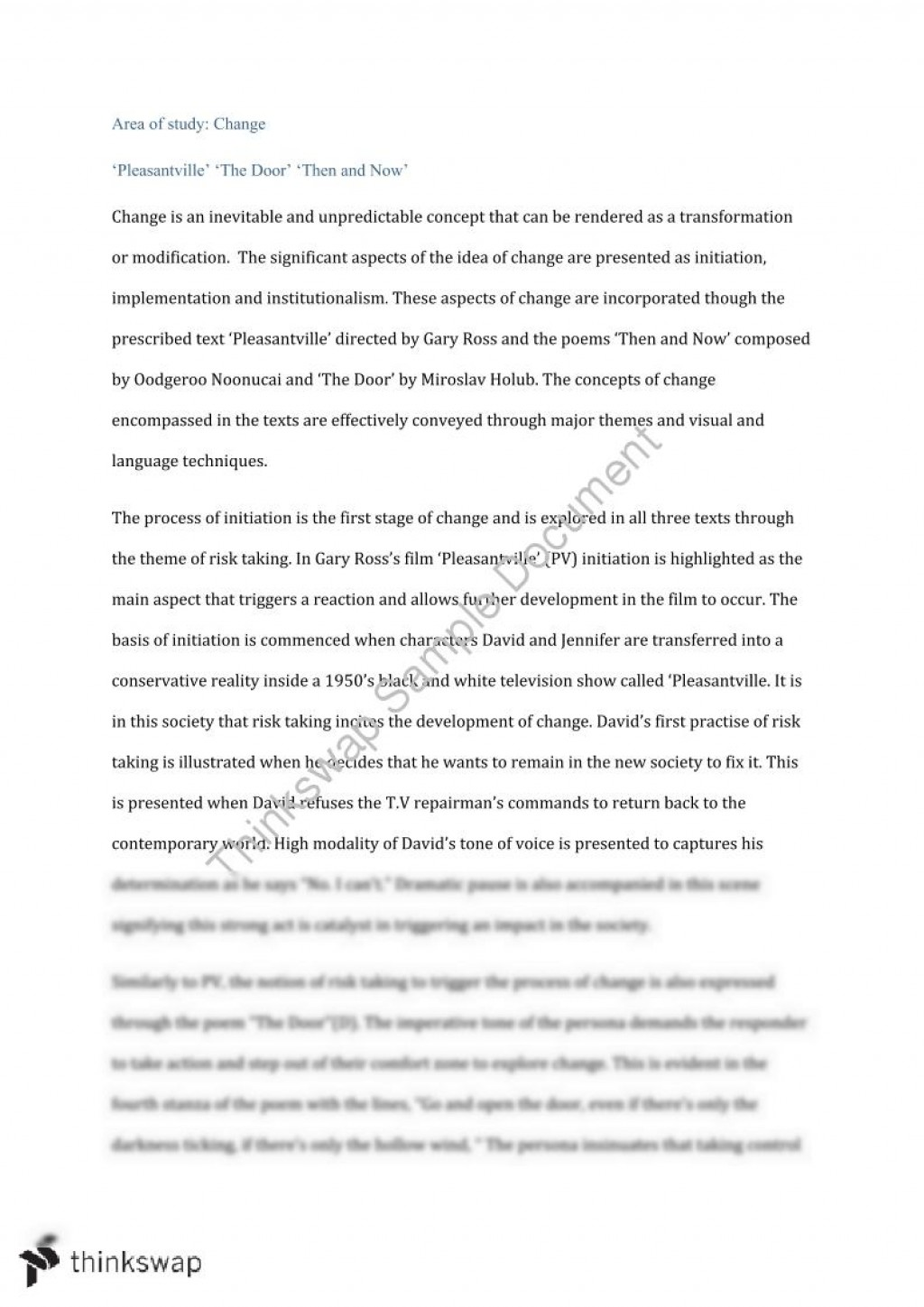 003 Change Essay 58348 Aoschangeessay Docx Fadded31 Awesome Topics The World Contest Titles Large