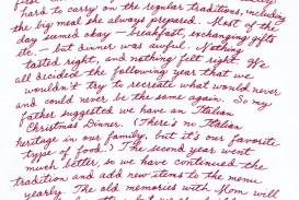 003 Christmas Memories Childhood Essay Unique Introduction Memory Example Paragraph