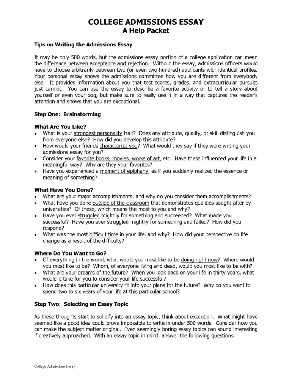 003 College Entry Essay Cover Letter Example Of Personal For Application Good Statement Applications Sa What Makes Best How To Write Examples Essays Amazing Admissions About Autism Tips Admission Ivy League Large