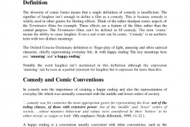 003 Comedyconventionsessay Phpapp01 Thumbnail Ending An Essay Excellent Ways To End Expository With A Rhetorical Question