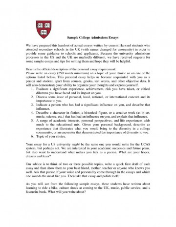 003 Common App Essays That Worked Harvard Essay Example Template Design College Examples Collection Of Free Application Transfer Topic Inside Words Writing Workshop Phenomenal 360
