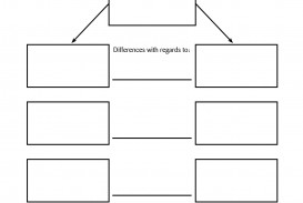 003 Compare And Contrast Essay Graphic Organizer Example Wondrous Middle School