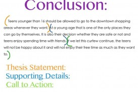 003 Conclusion To Persuasive Essay Outstanding Good A Example The Strongest