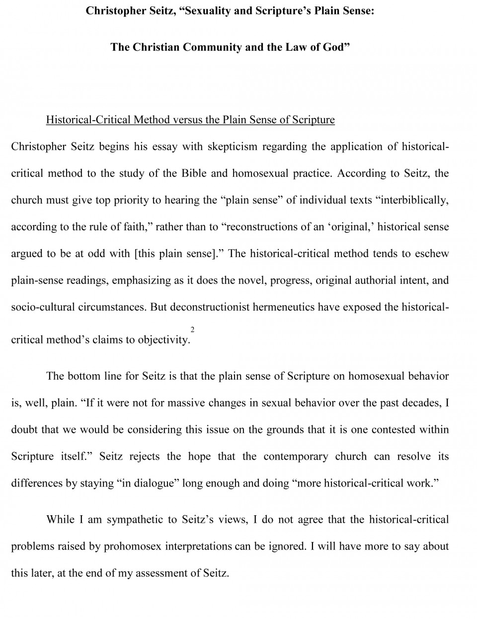 003 Critical Analysis Essay Sample Autoethnography Example Best Essays Examples Pdf 960