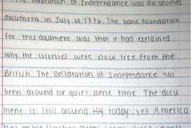 003 Declaration Of Independence Essay Background Knowledge Archaicawful Hook Pdf Mini Q Questions