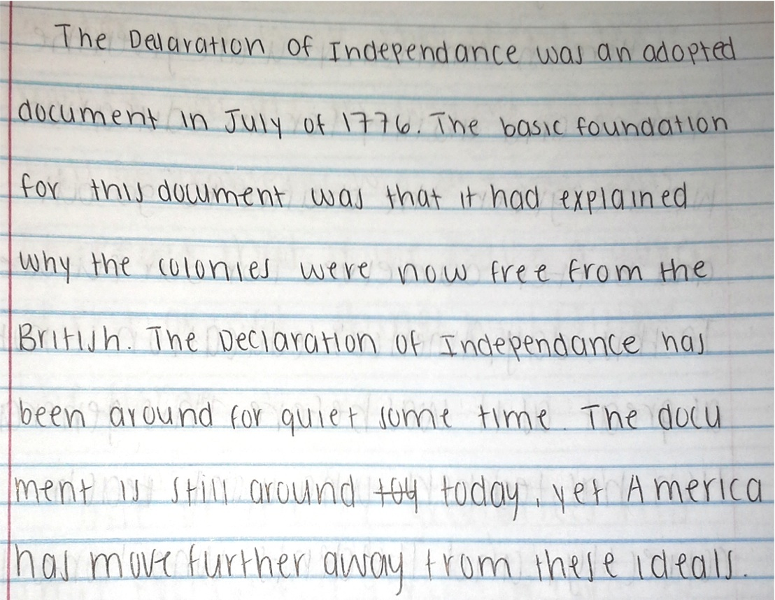 003 Declaration Of Independence Essay Background Knowledge Archaicawful Hook Pdf Mini Q Questions Full