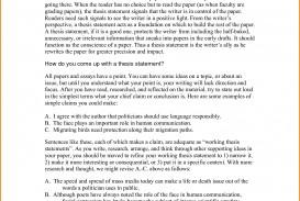 003 Descriptive Essay Thesis Statements For Essays Rare Statement Generator Pdf