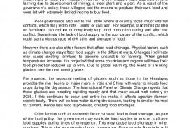 003 Divorce Essay Example Thegreatestcauseoffoodshortageispoorgovernanceldessay Lva1 App6892 Thumbnail Unusual Titles Conclusion Social Issue