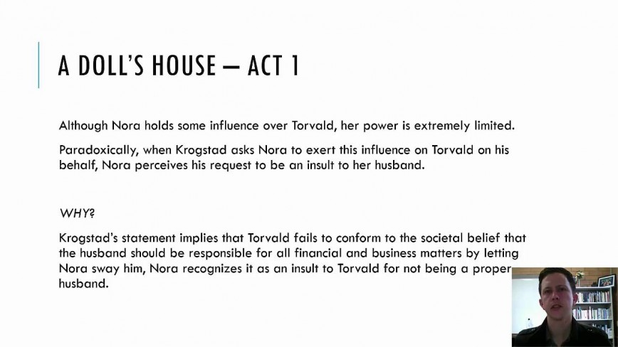 003 Dolls House Essay Maxresdefault Breathtaking A Doll's Discussion Questions Act 1 Thesis Nora