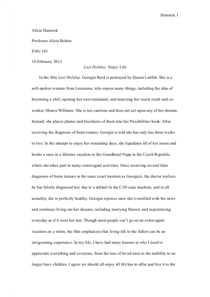 003 Eng101essay1revisied Phpapp02 Thumbnail Essay Example About My Archaicawful Life As A Student Experience Of University And Peer Pressure 728