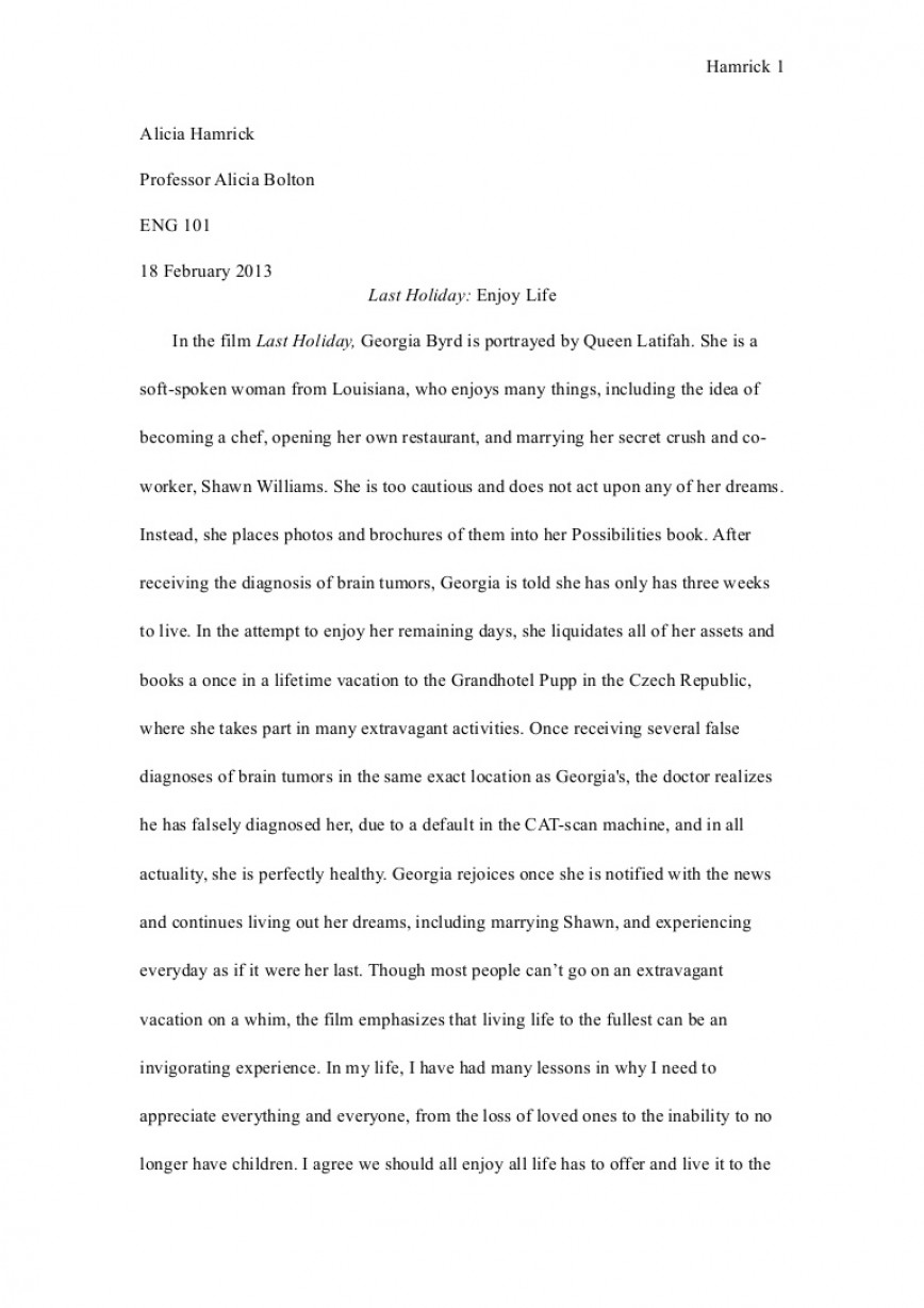 003 Eng101essay1revisied Phpapp02 Thumbnail Essay Example About My Archaicawful Life As A Student Experience Of University And Peer Pressure 868