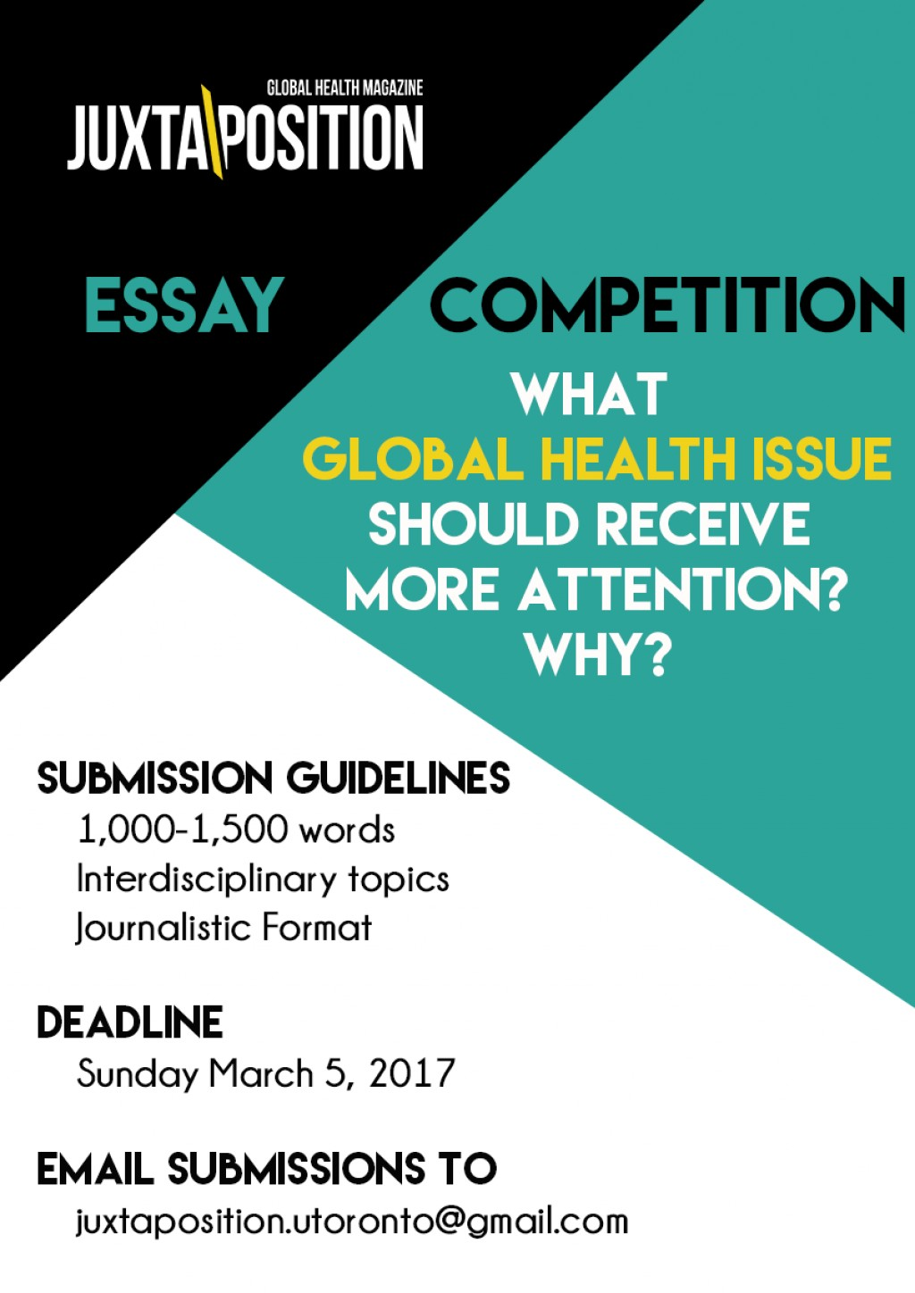 003 Essay Contest Essaycompposterw940 Staggering 2017 Online Competition India Writing High School Optimist International Large