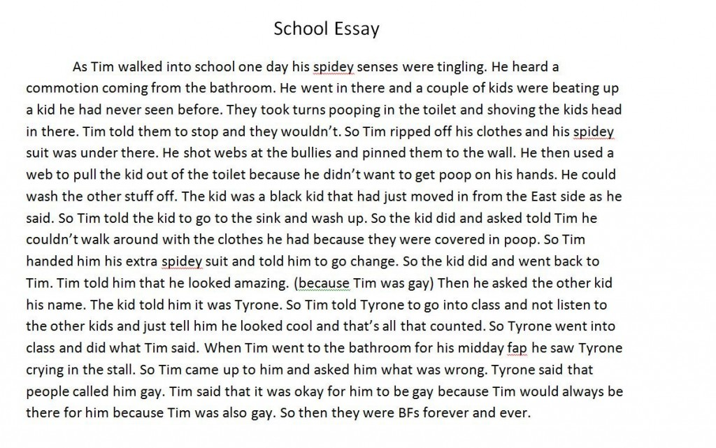 003 Essay Example About School Fddb74 3451752 Best Life Pdf And College Large
