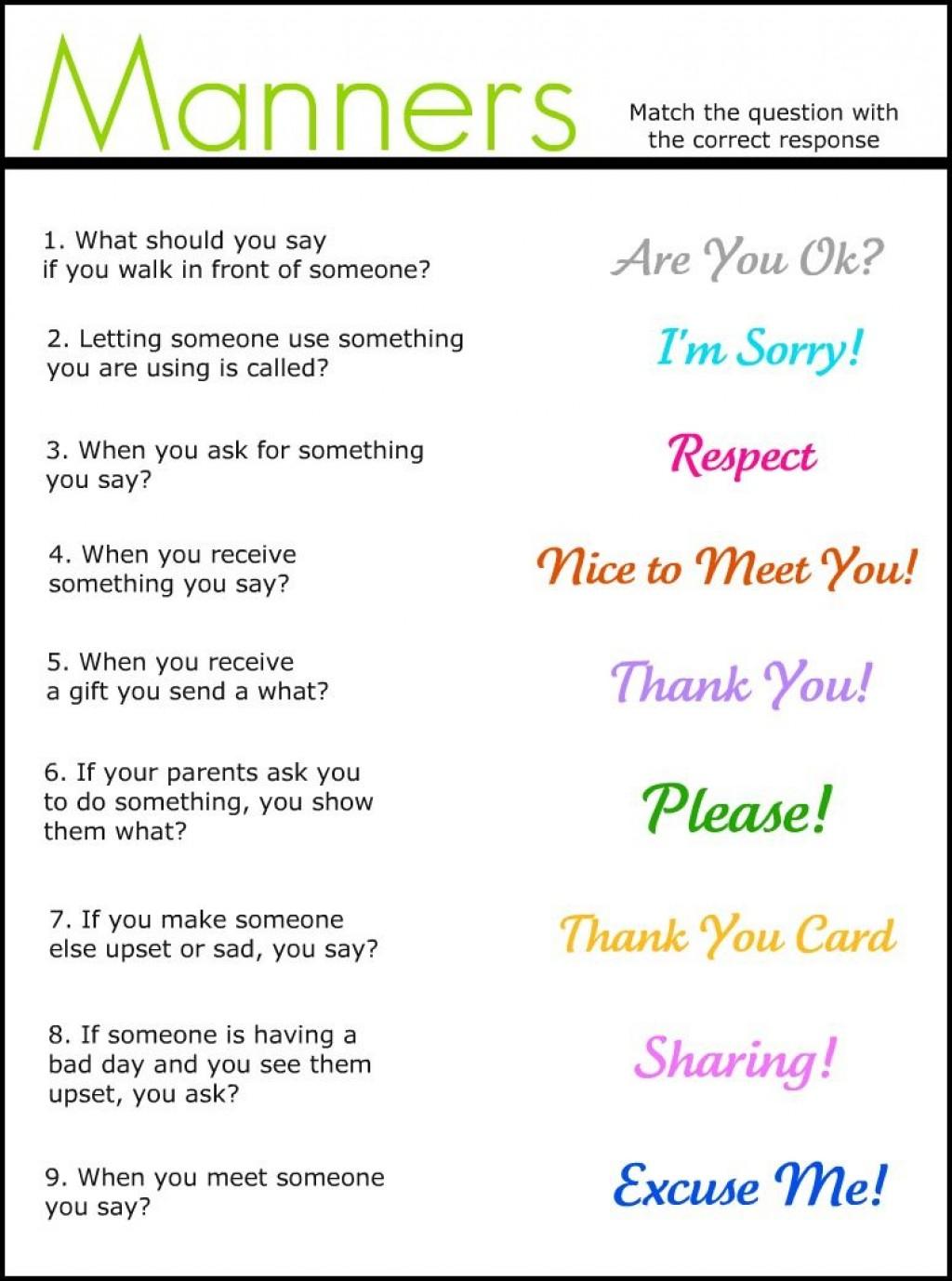 003 Essay Example Basic Table Wonderful Manners Large