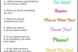 003 Essay Example Basic Table Wonderful Manners