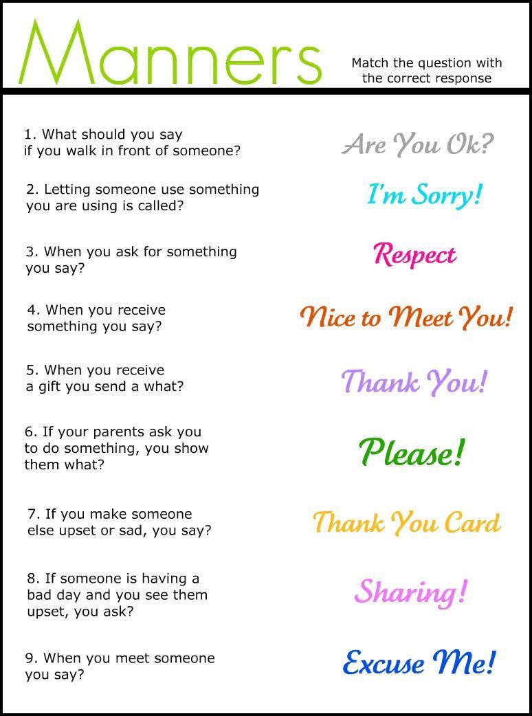 003 Essay Example Basic Table Wonderful Manners Full