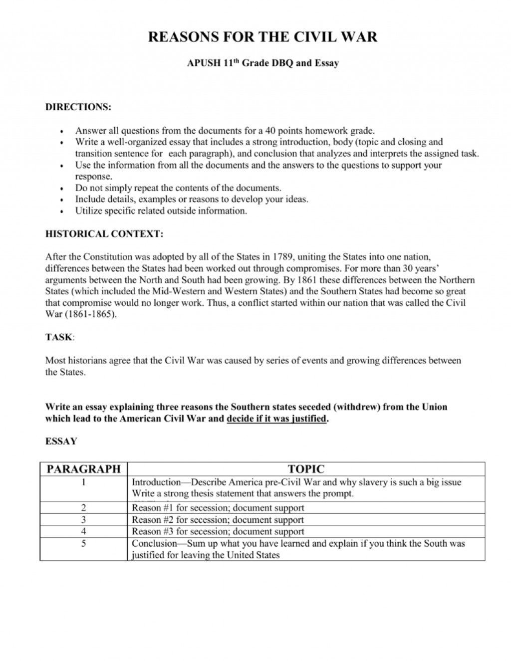 003 Essay Example Civil War Stirring English Prompts Thesis Questions Large