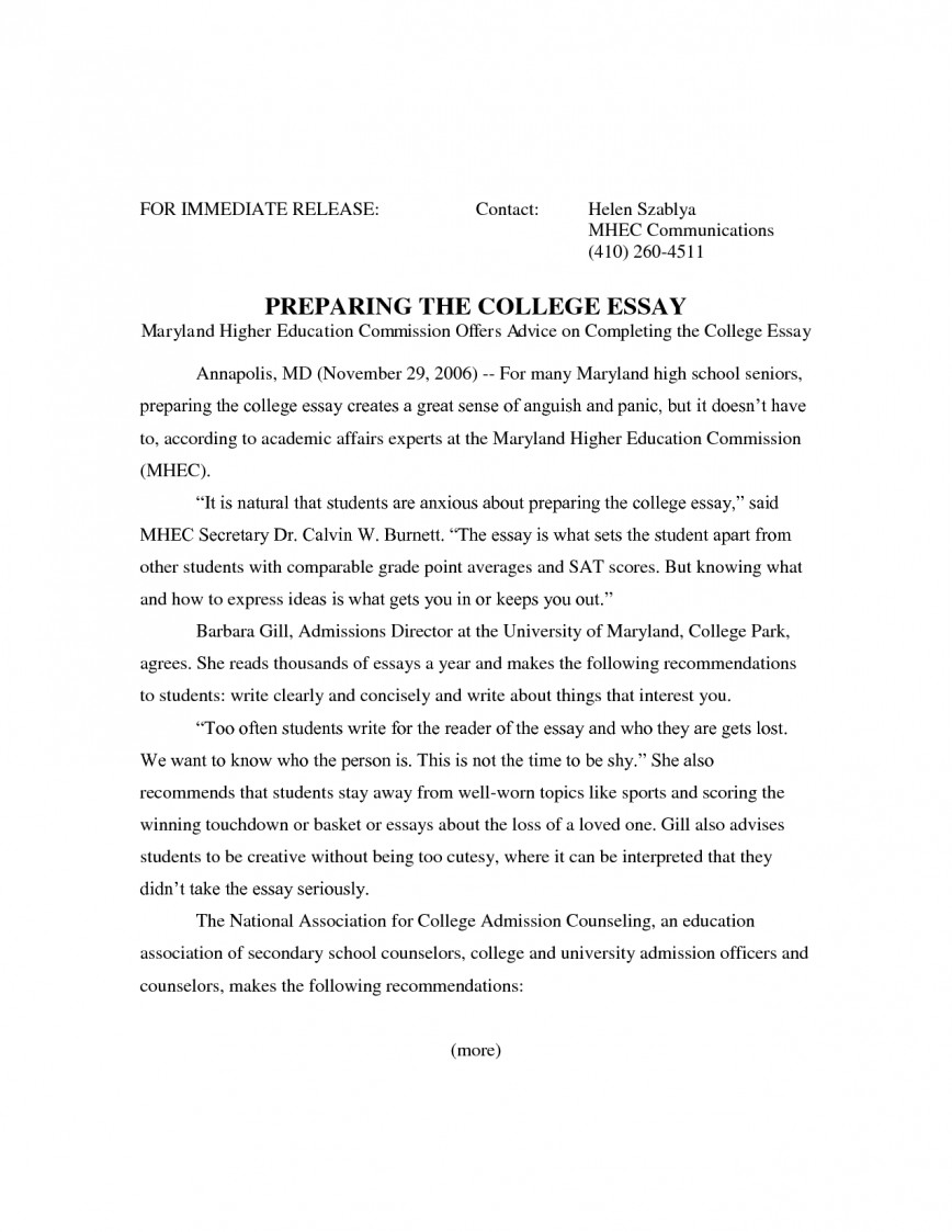 003 Essay Example College Admissions Help Joke Dissertation Admission Format L Impressive Graduate School Apa
