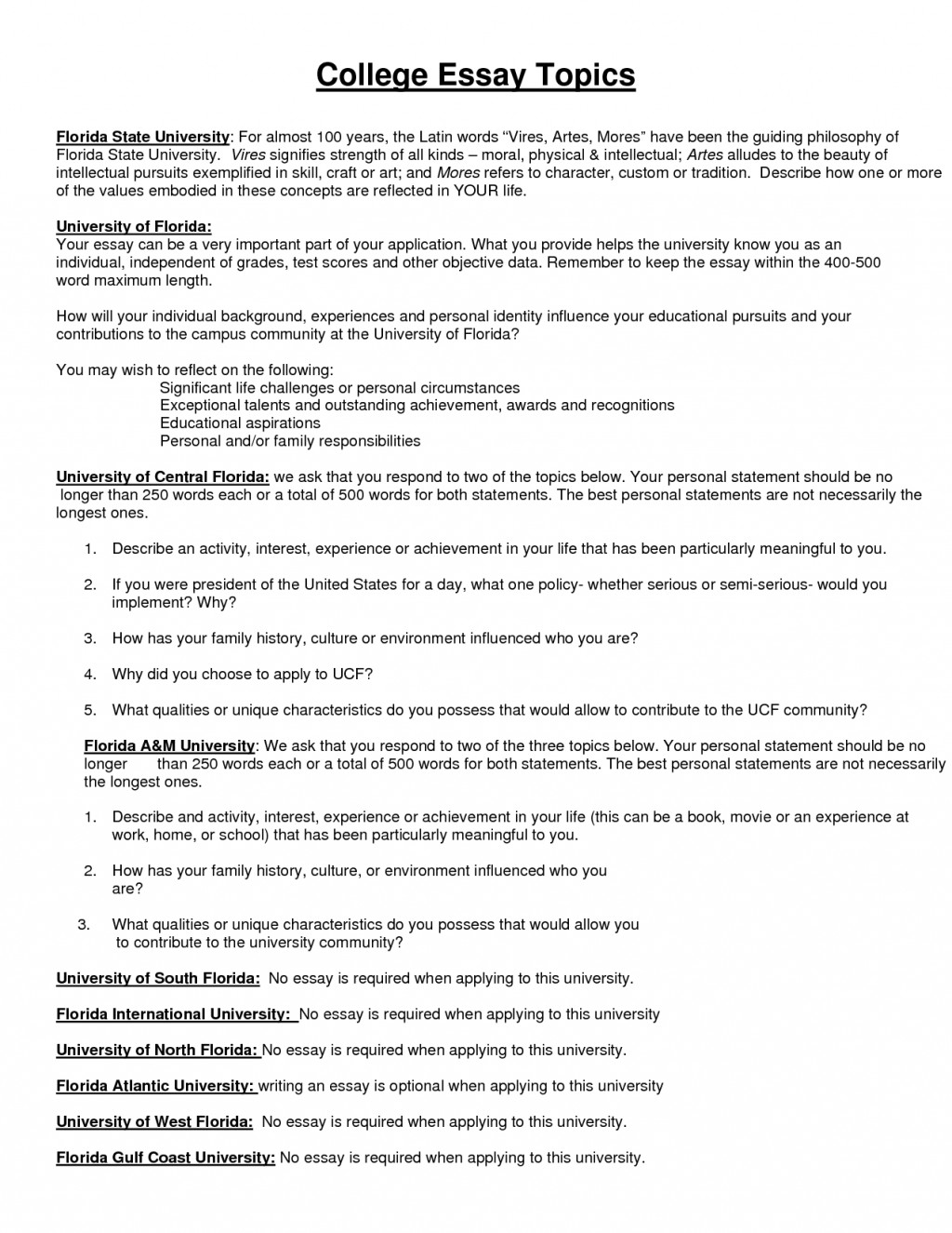 003 Essay Example College Application Prompts Archaicawful 2017 Samples Admission 2015 Large