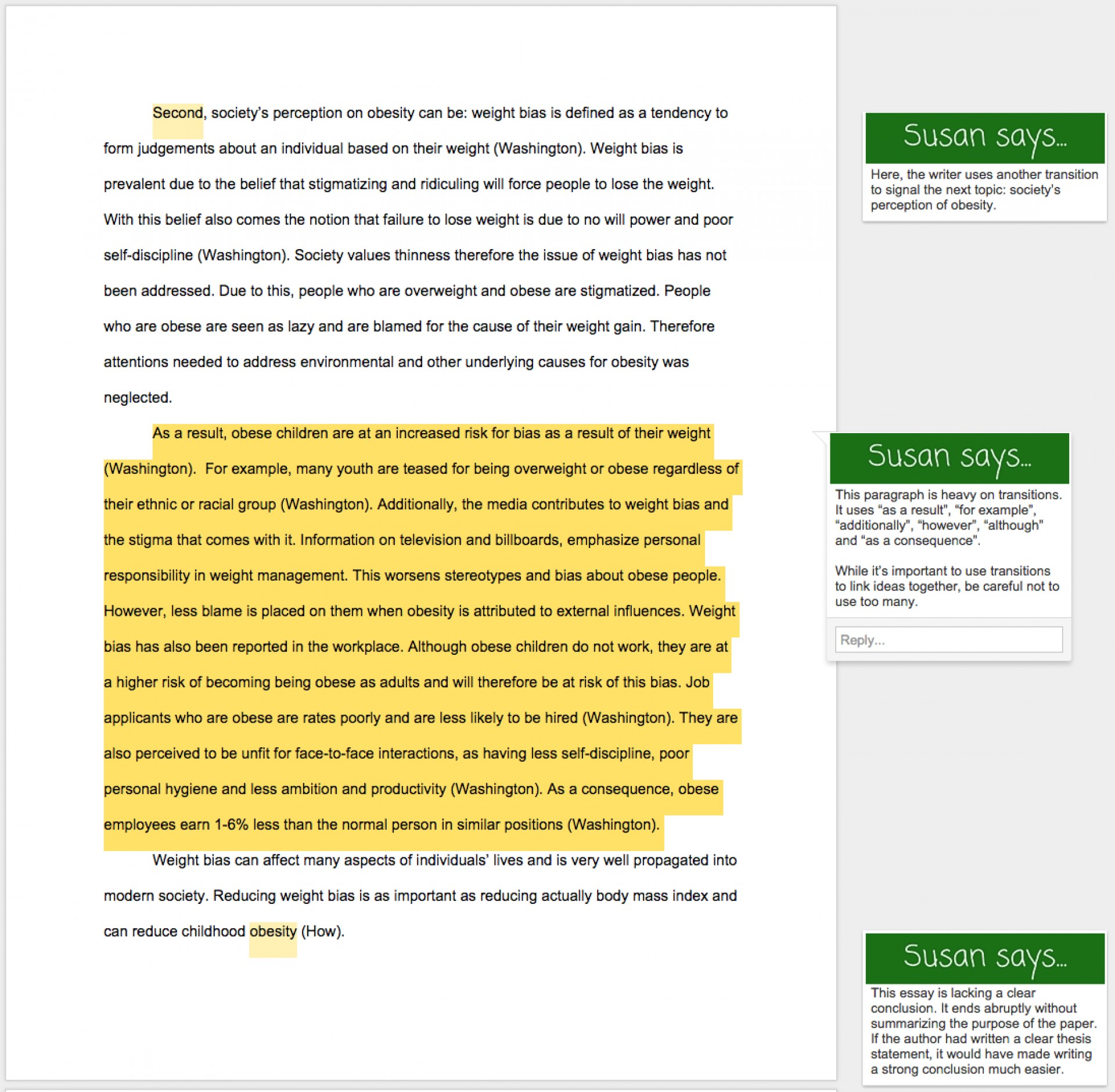 003 Essay Example Conclusion For Obesity Cause And Effect On Udgereport843webfc2com L Top Childhood 1920