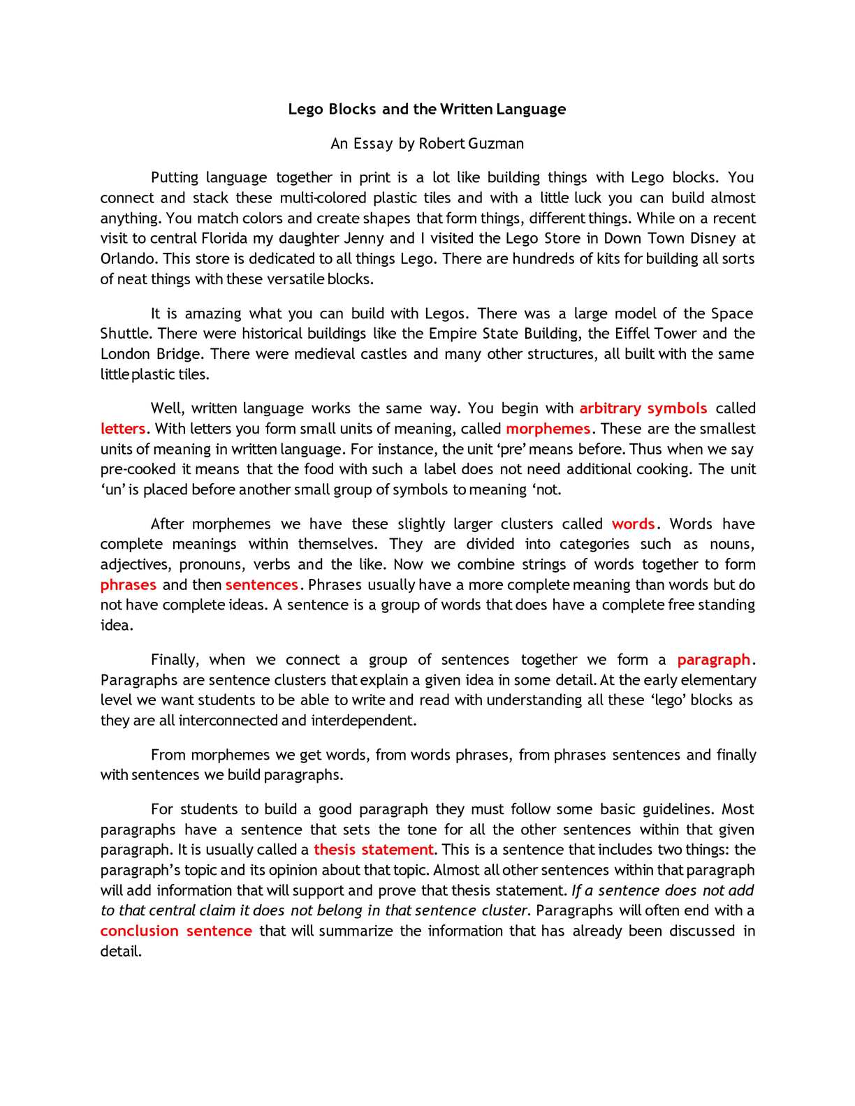 003 Essay Example Eiffel Tower Description Exceptional Full
