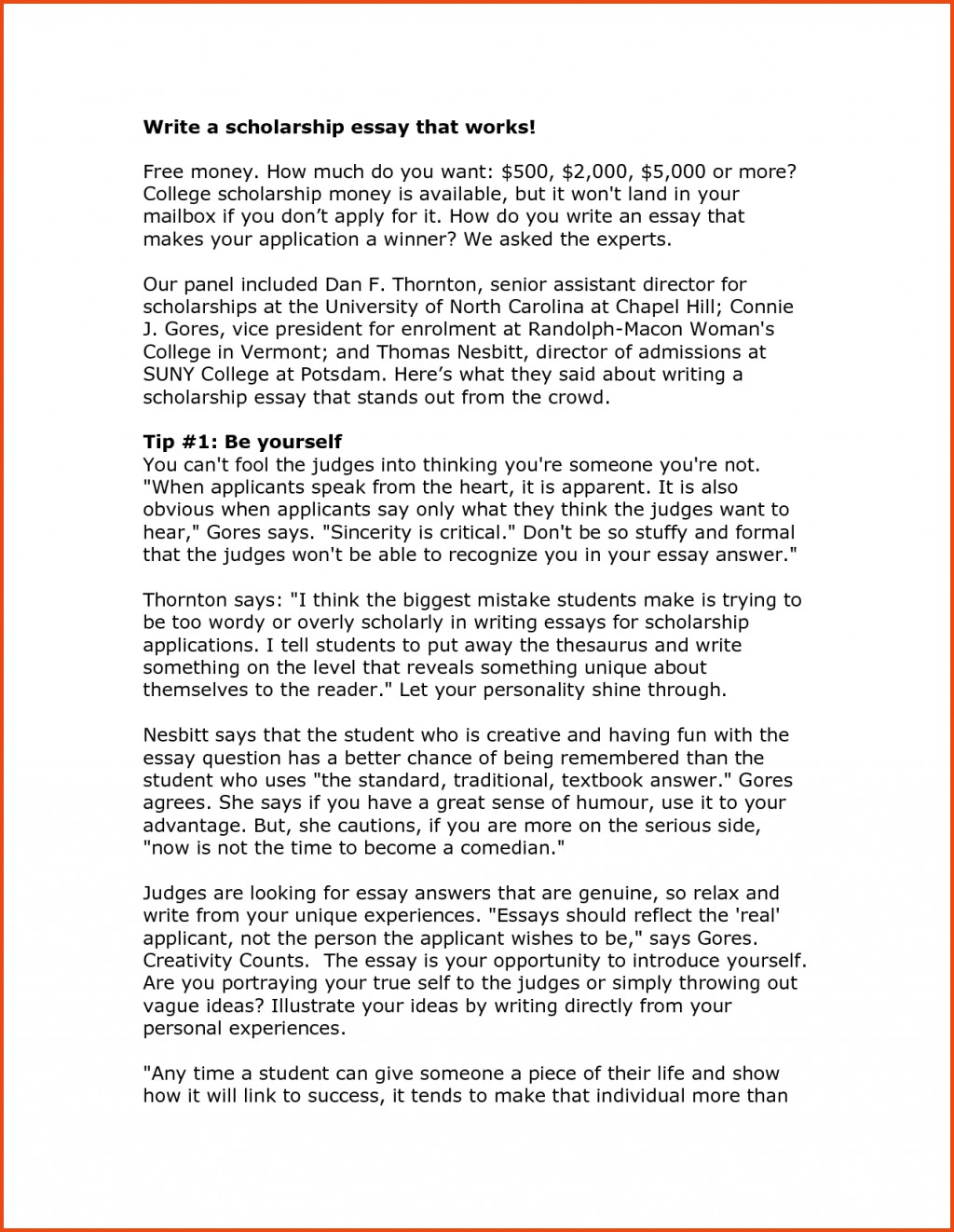003 Essay Example Essays About Yourself Write College L Where Do You See In Sensational 10 Years Best Answer Medical School Large