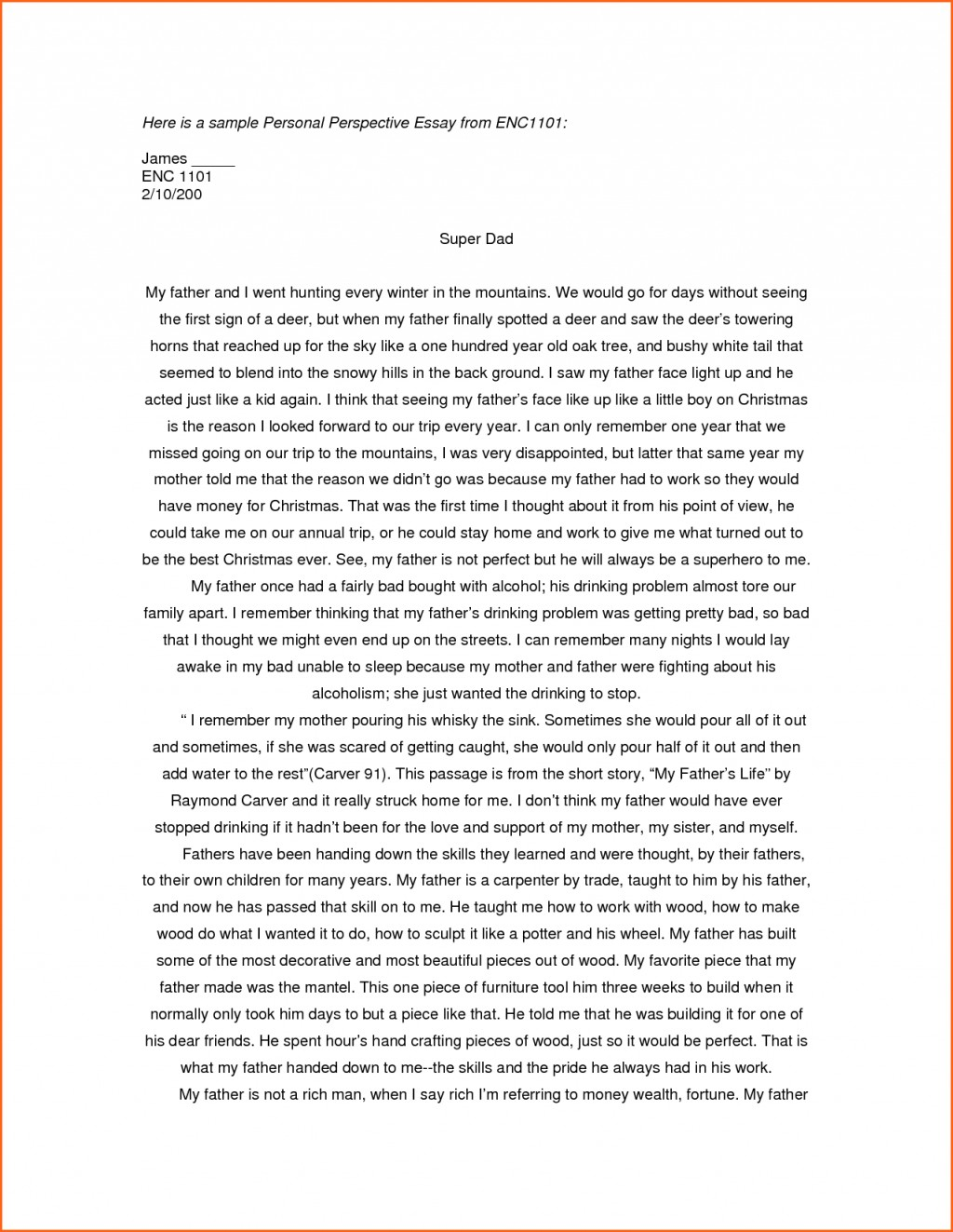 003 Essay Example Examples Of Personal Essays For College Applications L Stupendous Writing Prompts Ks2 Structure Outline Format Scholarships Large