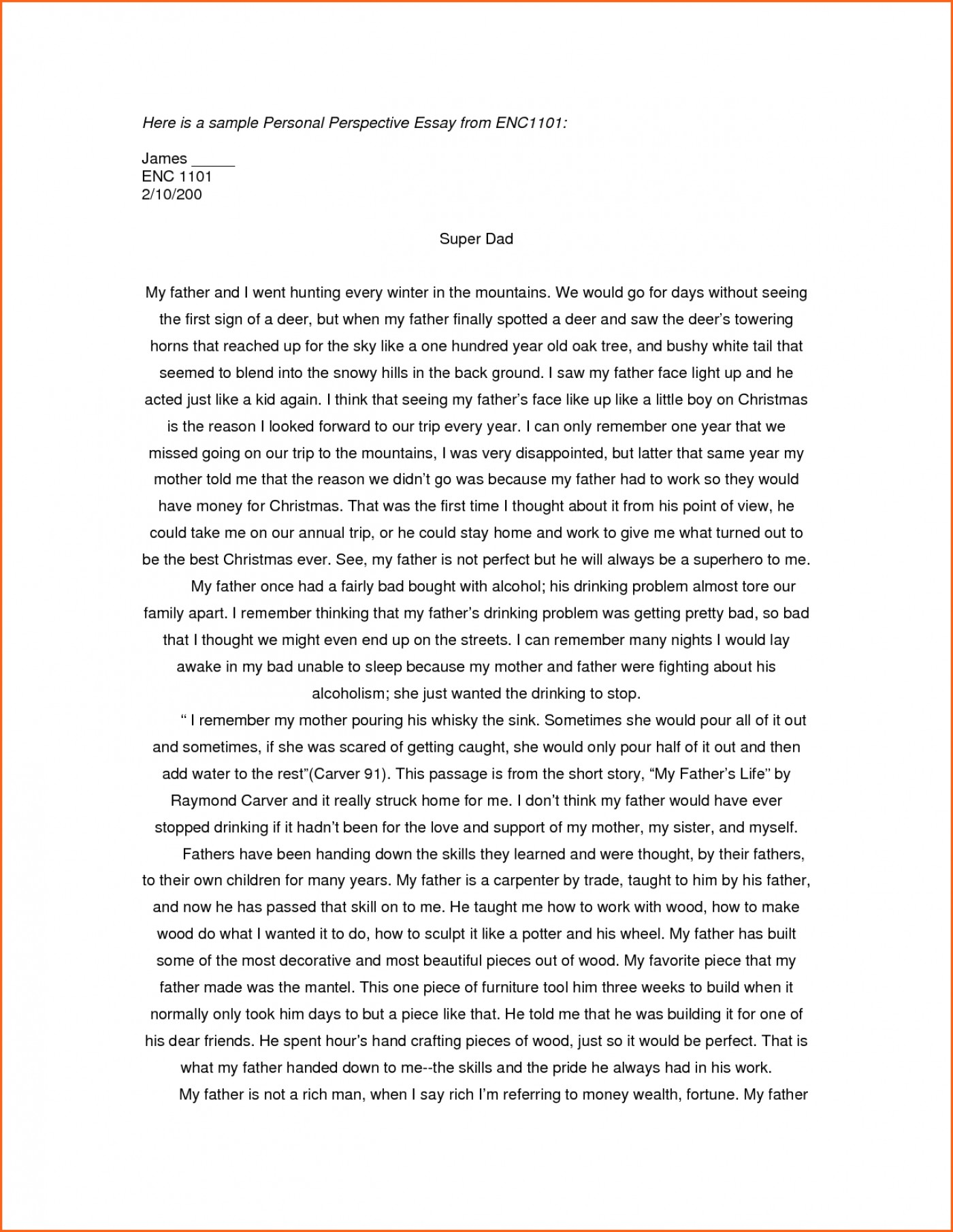 003 Essay Example Examples Of Personal Essays For College Applications L Stupendous Writing Prompts Ks2 Structure Outline Format Scholarships 1400