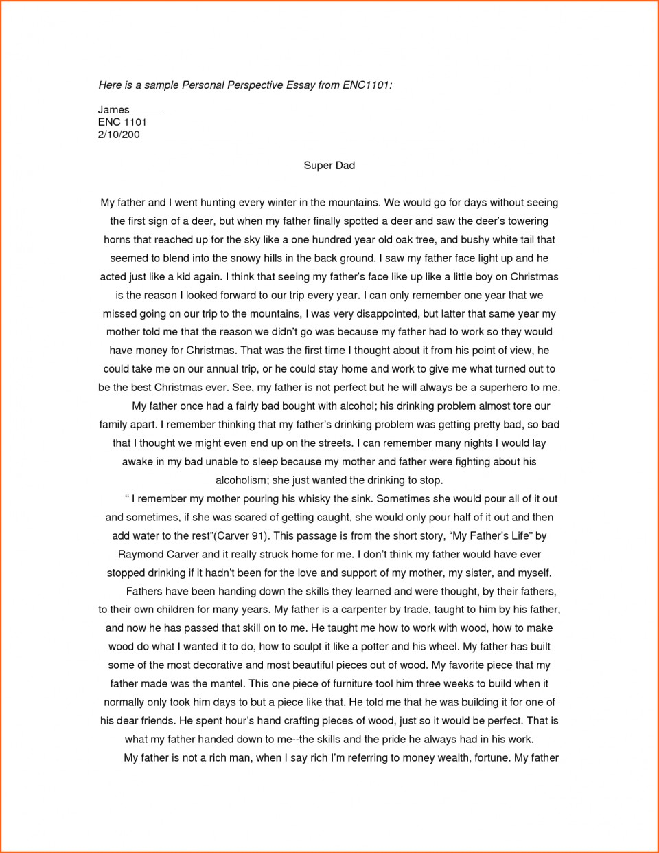 003 Essay Example Examples Of Personal Essays For College Applications L Stupendous Writing Prompts Ks2 Structure Outline Format Scholarships 960