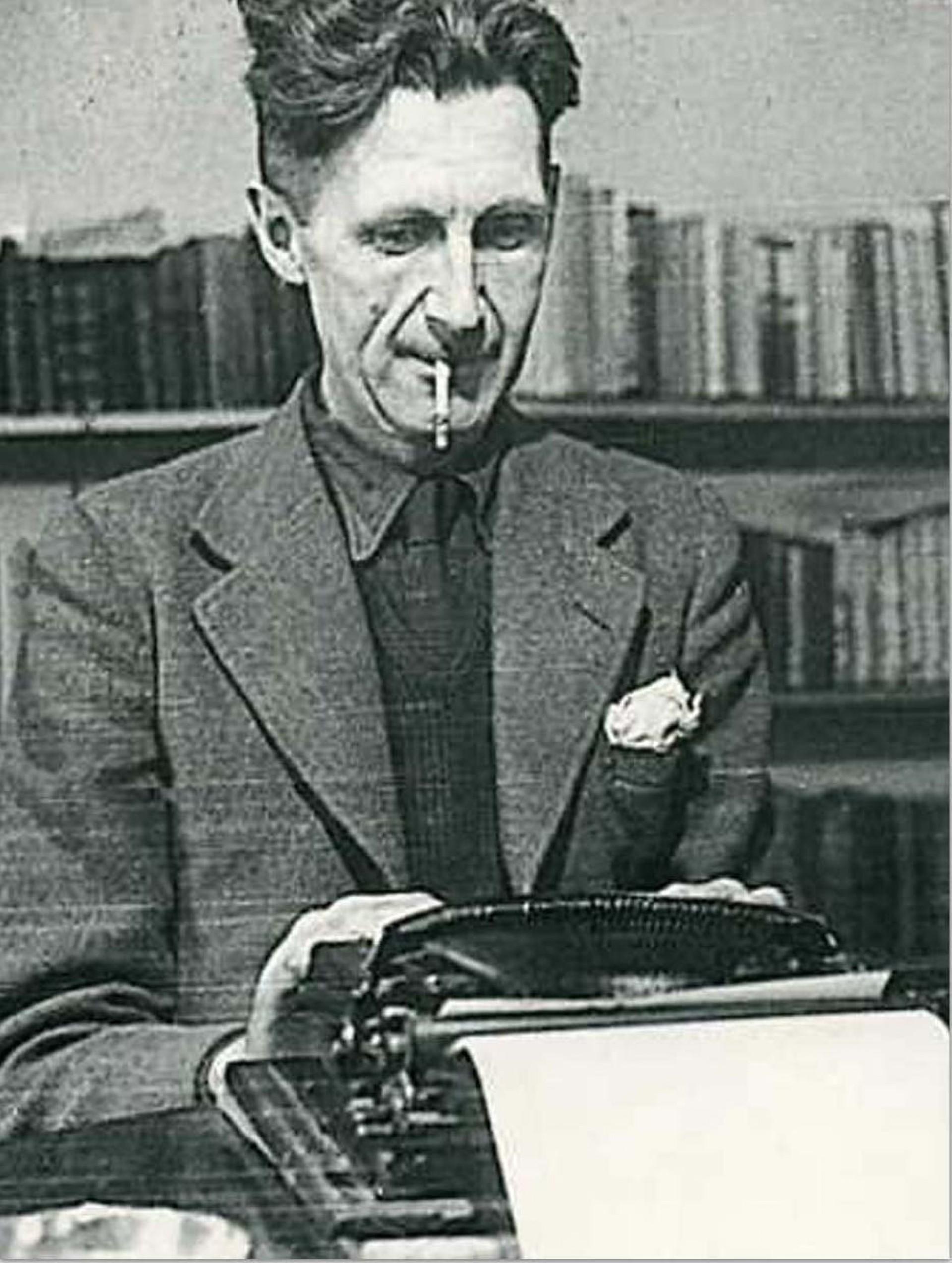 003 Essay Example George Orwell Frightening Essays Everyman's Library Summary Bookshop Memories 1920