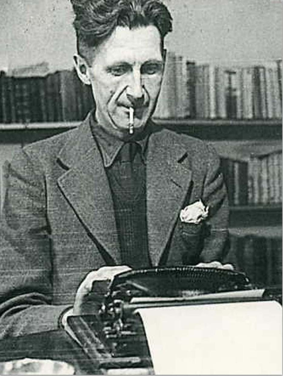 003 Essay Example George Orwell Frightening Essays 1984 Summary Collected Pdf On Writing Full
