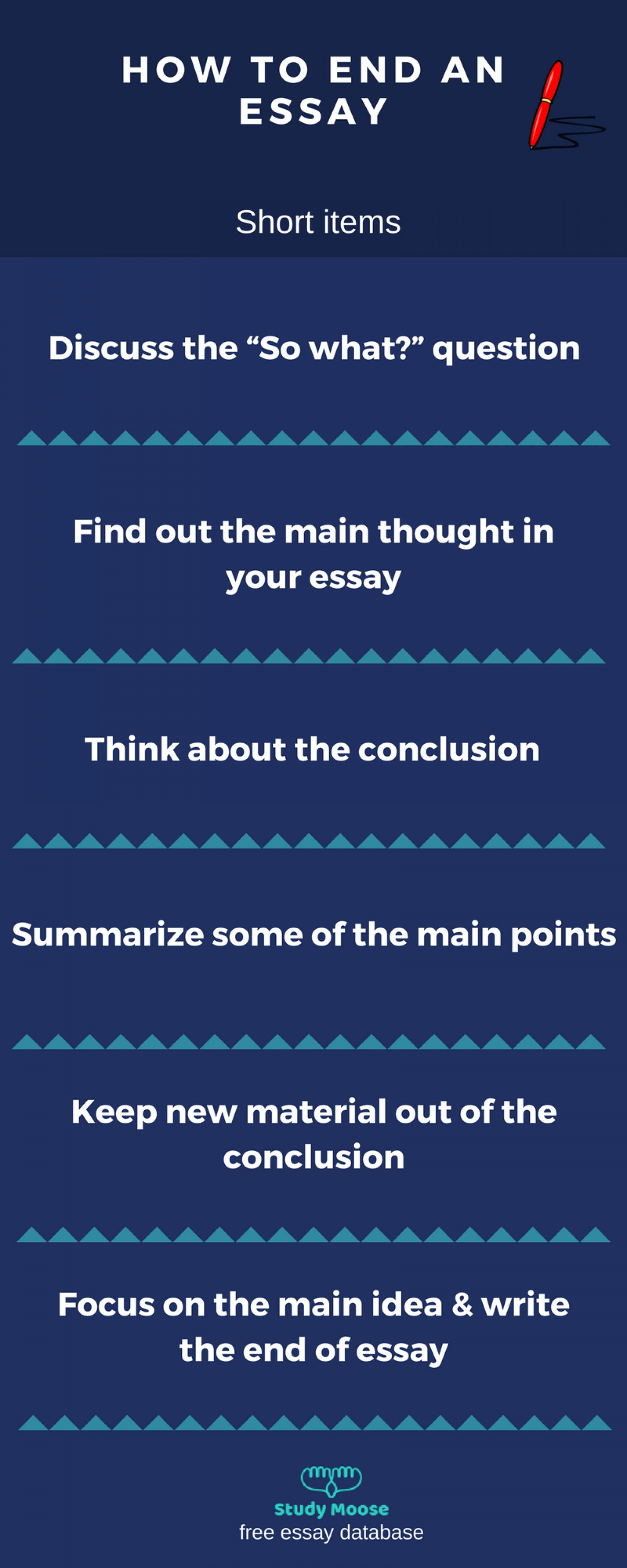 003 Essay Example Good Ways To End An Outstanding What's The Best Way What Is A Argumentative College 1400