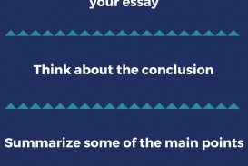 003 Essay Example Good Ways To End An Outstanding Best Way Argumentative How Opinion 320