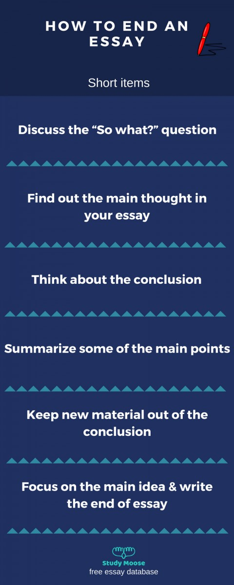 003 Essay Example Good Ways To End An Outstanding What's The Best Way What Is A Argumentative College 480