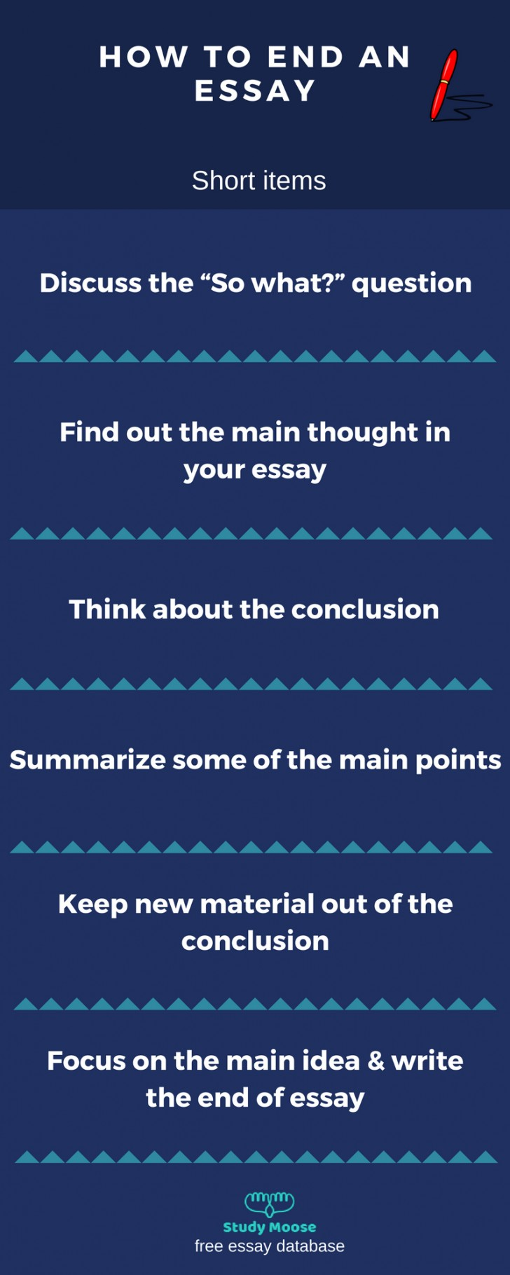 003 Essay Example Good Ways To End An Outstanding Best Way Argumentative How Opinion 728