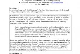 003 Essay Example Great Gatsby American Fantastic Dream Conclusion The Pdf Free
