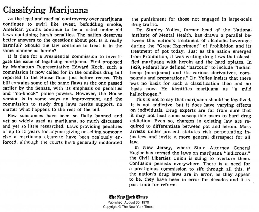 003 Essay Example High Time Classifying Marijuana August Breathtaking Topics Titles Outline 868