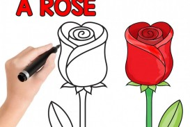 003 Essay Example How To Draw Rose Easy Step By For Beginners And Kids Writing On Flower Kidsssl1 Unbelievable About In Marathi Kannada Language