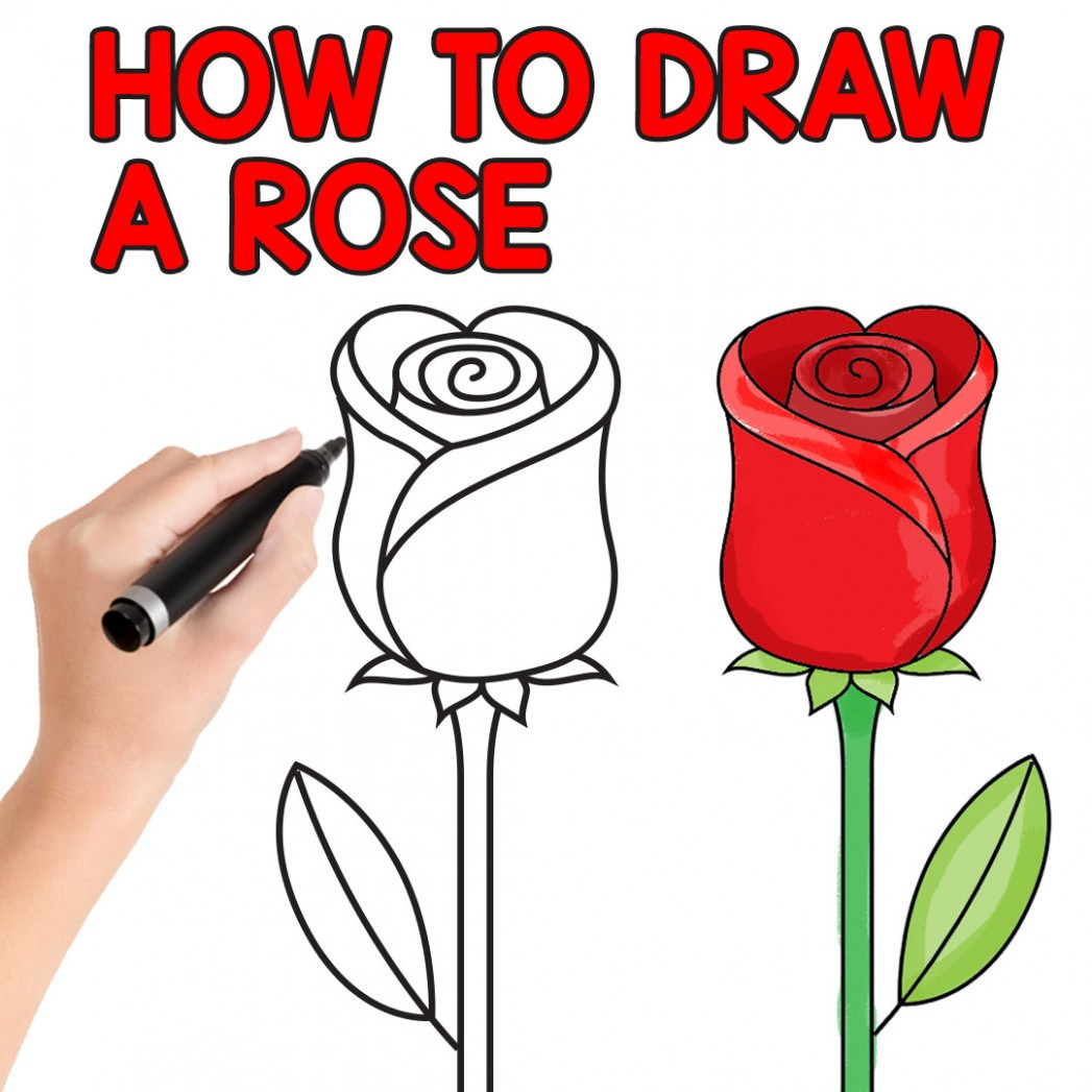 003 Essay Example How To Draw Rose Easy Step By For Beginners And Kids Writing On Flower Kidsssl1 Unbelievable About In Marathi Kannada Language Full