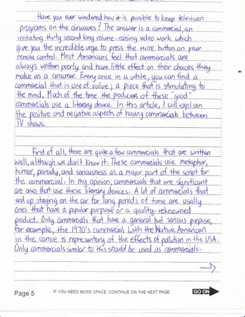 003 Essay Example How To Write Sat Average Fantastic A New Format Good Introduction 480