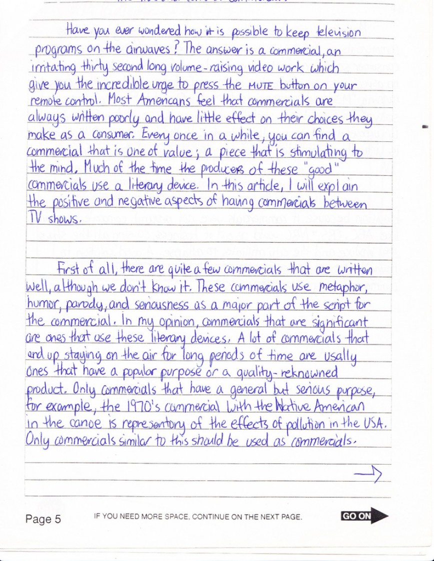 003 Essay Example How To Write Sat Average Fantastic A New Format Good Introduction 868