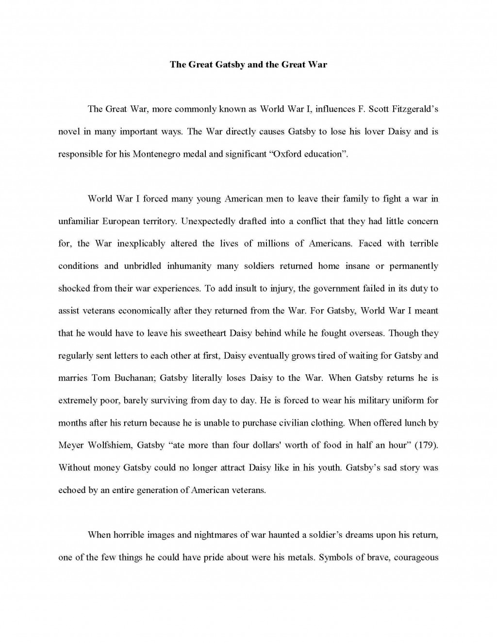 003 Essay Example Informative Sample Introduction Frightening Examples Paragraph Large