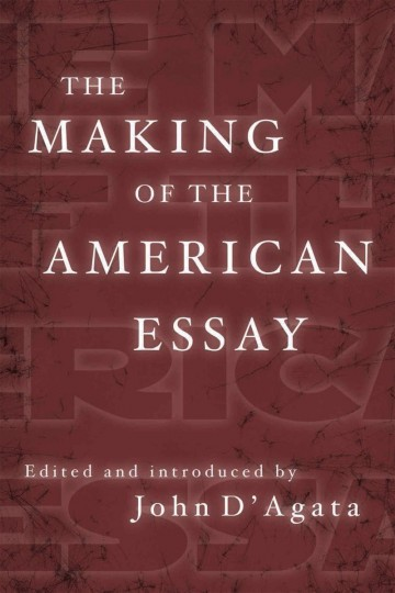 003 Essay Example Makingamericanessay John Stirring D Agata D'agata The Next American Pdf 360